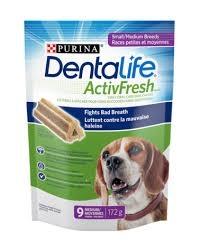 Purina Dentalife ActivFresh Small Medium 173g