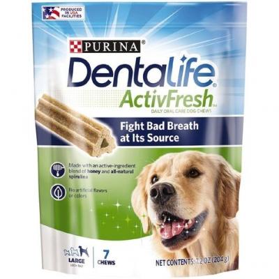 Purina Dentalife ActivFresh Large 204g