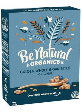 Be Natural Organics Golden Whole Grain Bites Original 460g