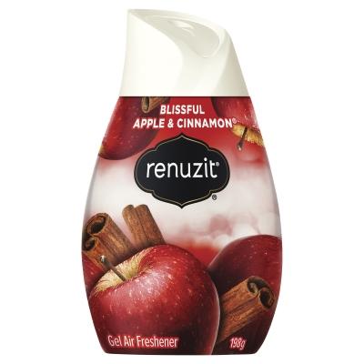 Renuzit Gel Air Freshener Blissful Apple & Cinnamon 198g