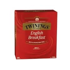 Twinings English Breakfast Teabags 100 Pack