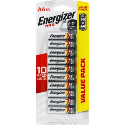 Energizer Batteries Max AA 10 Pack