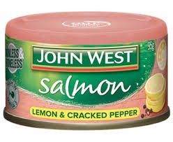 John West Salmon Tempters Lemon Cracked Pepper 95g