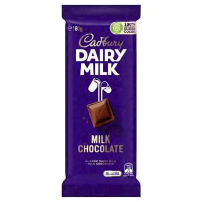 Cadbury Chocolate Dairy Milk 180g