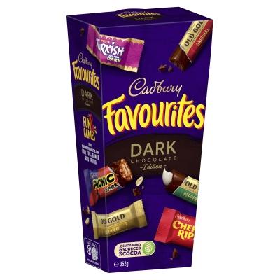 Cadbury Favourites Dark Edition 353g