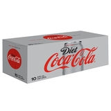 Coke Diet 10 x 375ml Cans