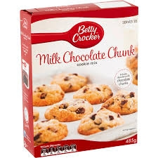 Betty Crocker Cookie Mix Milk Chocolate Chunk 485g