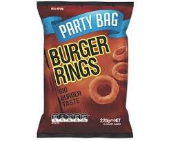 Burger Rings 220g