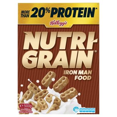 Kellogg's Nutri-Grain Cereal 500g