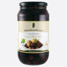 Penfield Olives Four Olive Mix 380g