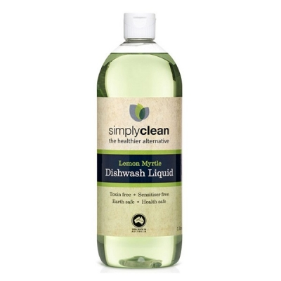 Simply Clean Dishwashing Liquid Lemon Myrtle 1lt